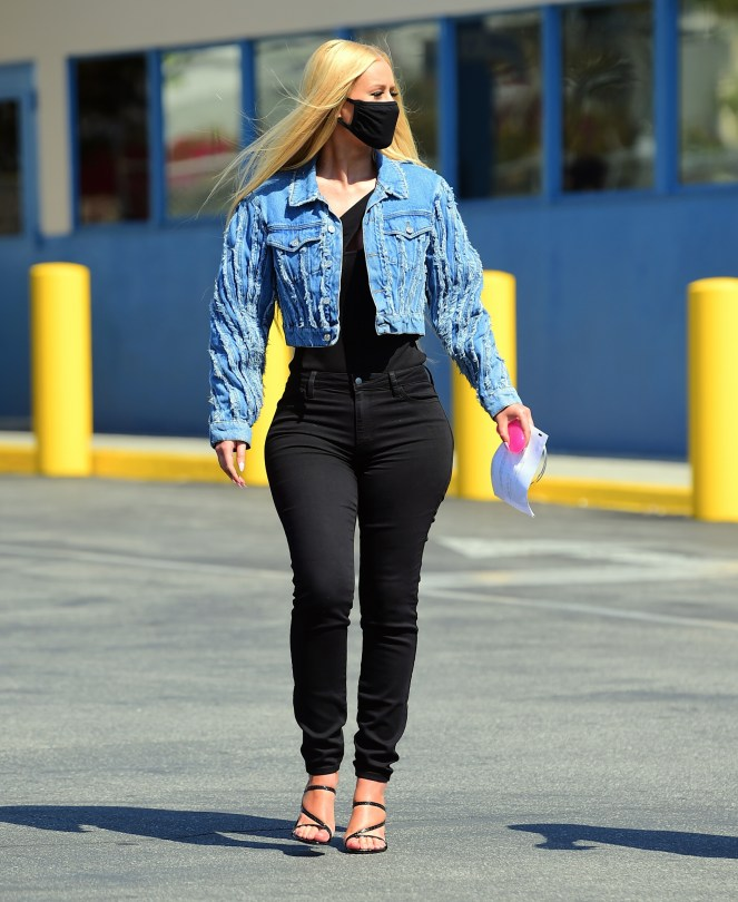 Exclusive: Iggy Azalea Hits The Dmv In Style In Her First Public Outing Since Revealing She Has Become A Mother