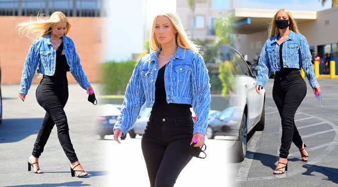 Iggy Azalea – Sexy Curvy Body in Tight Pants