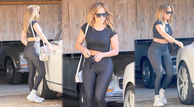 Jennifer Lopez Sexy In Spandex