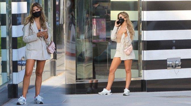 Kara Del Toro – Sexy Legs in Mini Skirt Out in Los Angeles