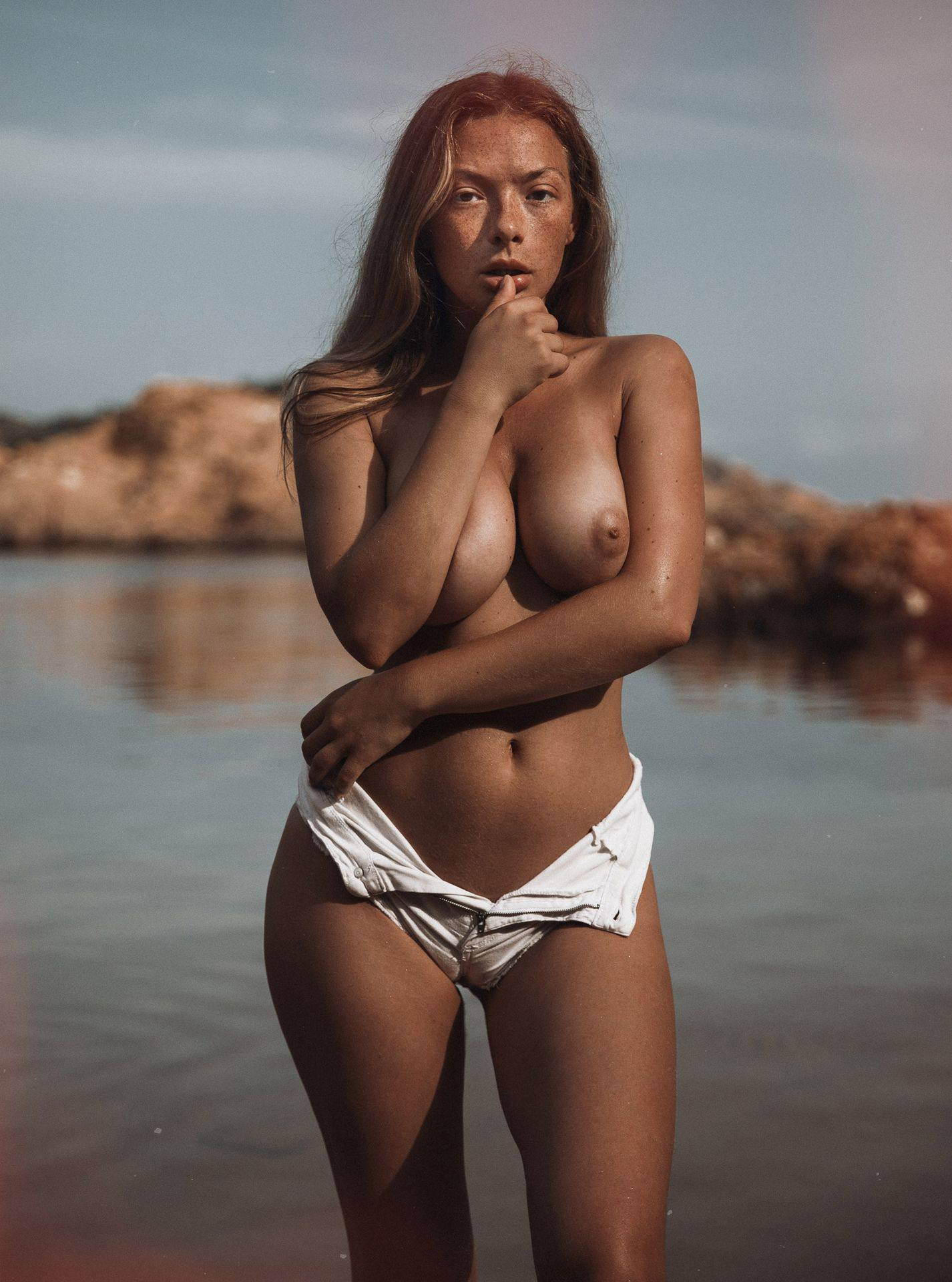 Olga Kobzar Sexy Boobs