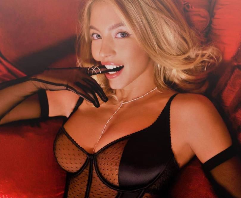 Sydney Sweeney Hot In Lingerie