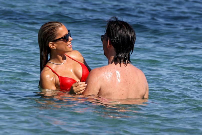 Sylvie Meis Sexy In Red Bikini