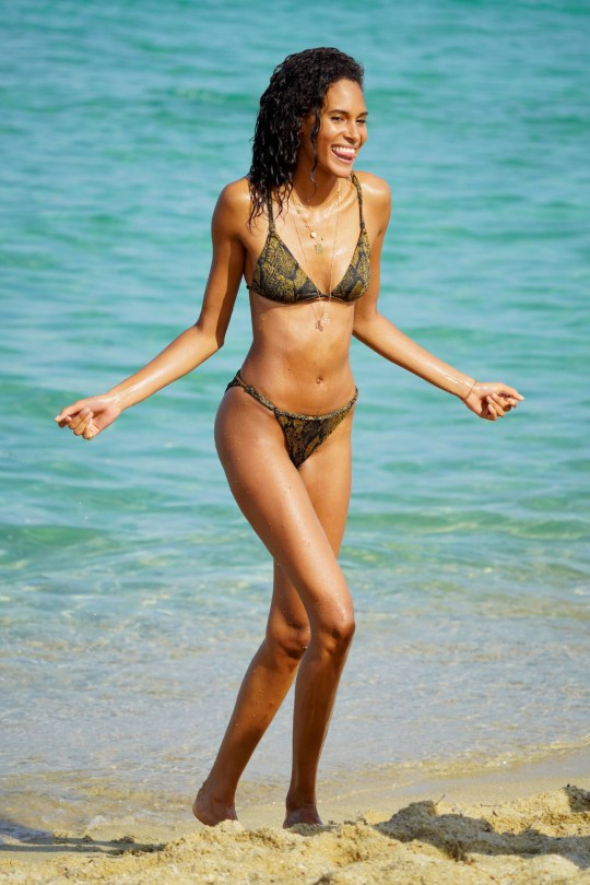 Cindy Bruna Sexy In Bikini
