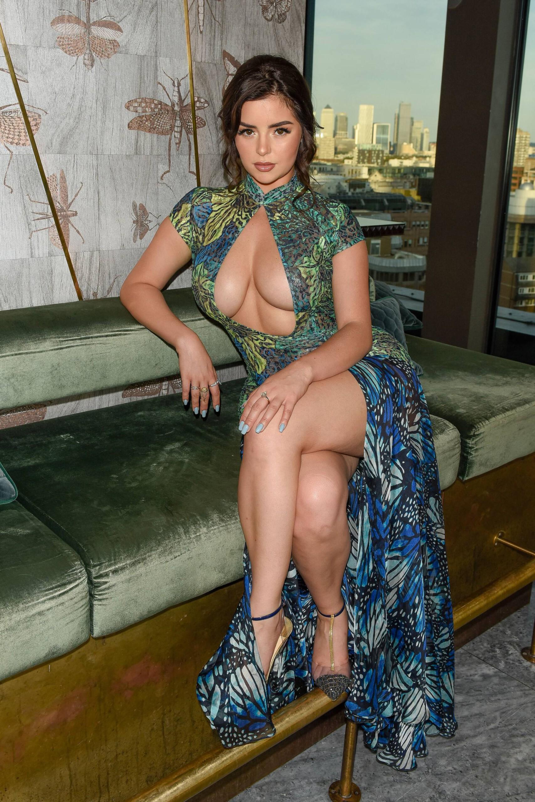 Demi Rose Mawby Big Cleavage