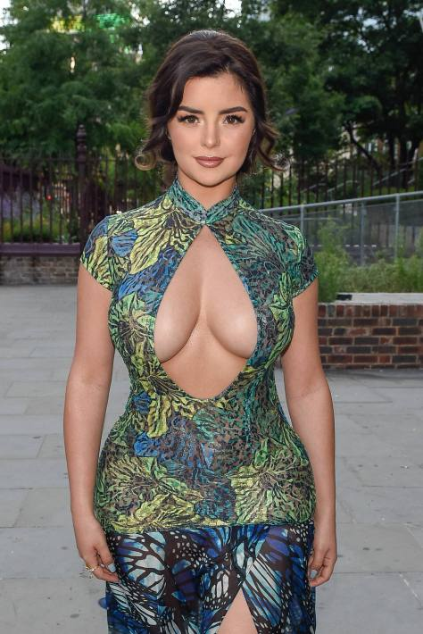Demi Rose Mawby Big Cleavage and Huge Sexy Boobs