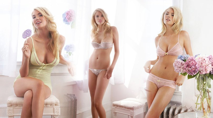 Kate Upton Sexy Boobs In Lingerie