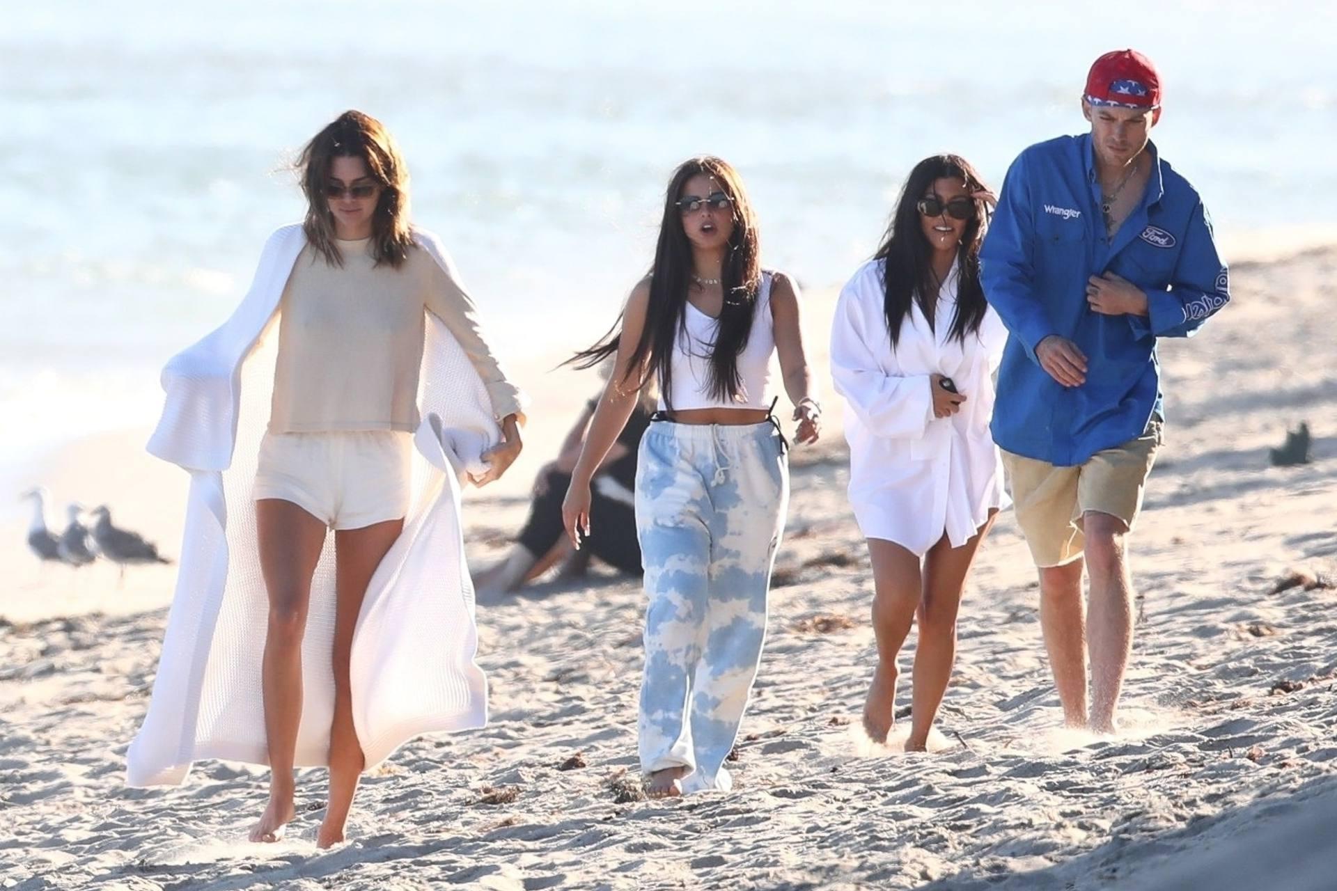 Kourtney Kardashian - Sexy Ass and Big Boobs on the Beach
