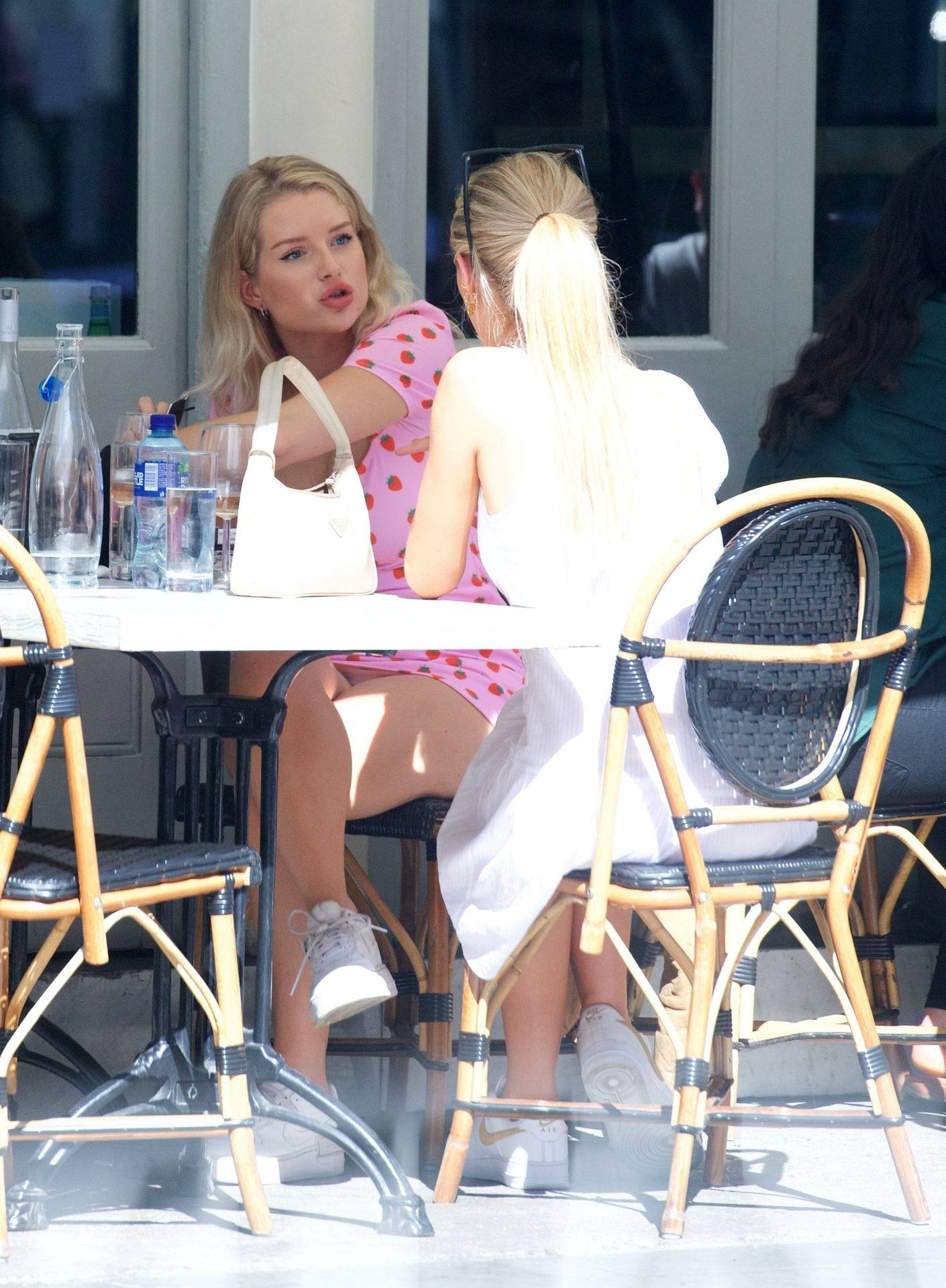 Lottie Moss Hot Upskirt