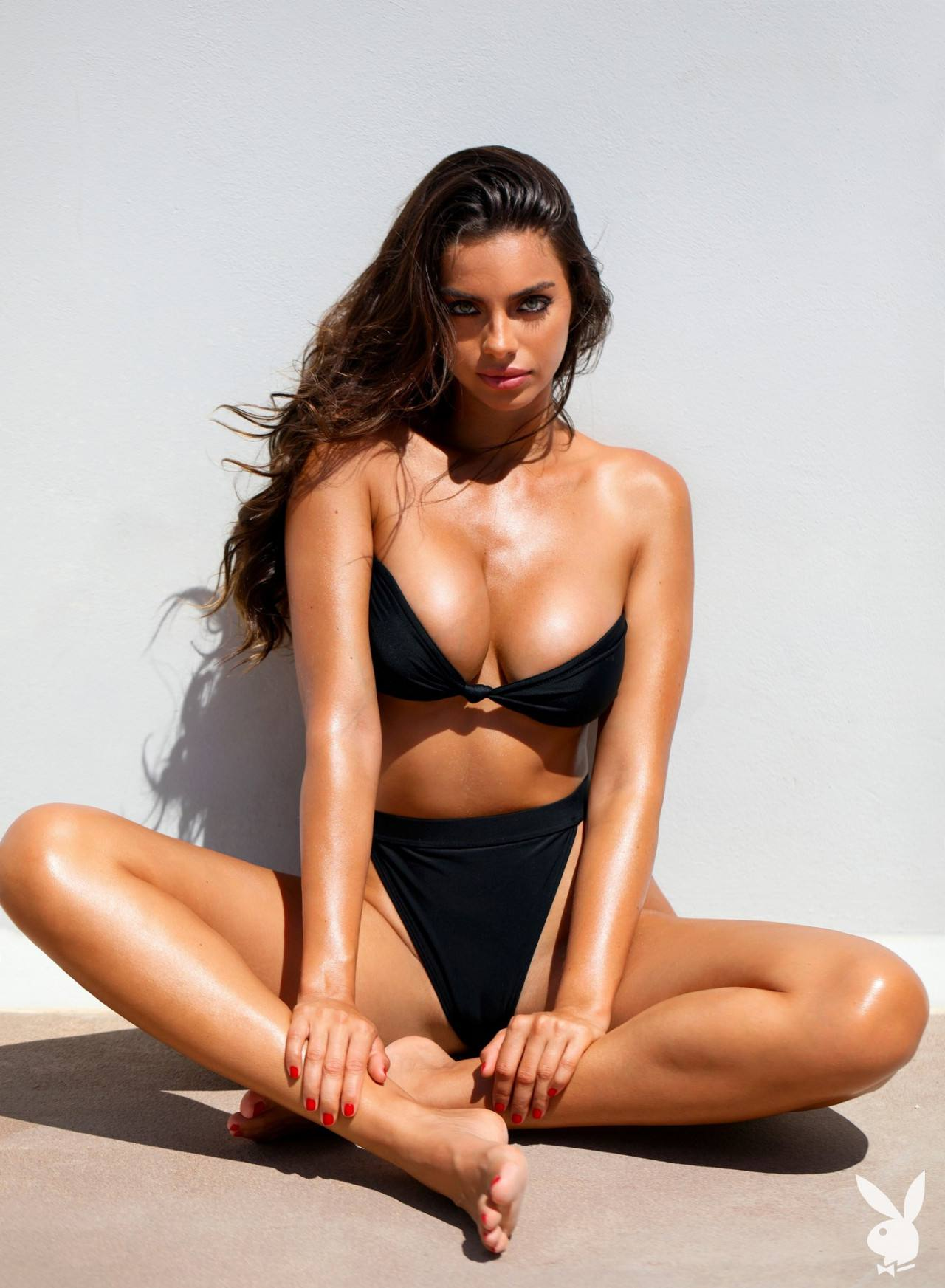 Priscilla Huggings Topless Playboy Photos