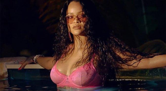 Rihanna – Hot Boobs in Savage X Fenty Summer XCLUSIVE Video