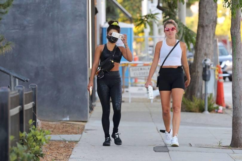 Vanessa Hudgens In Leggings