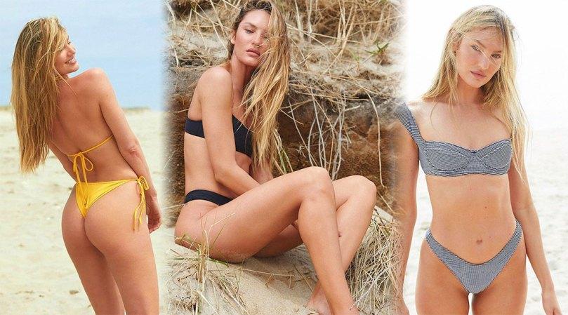 Candice Swanepoel Beautiful Ass In Tiny Bikini