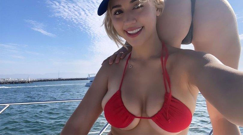 Caylee Cowan Beautiful Huge Breasts