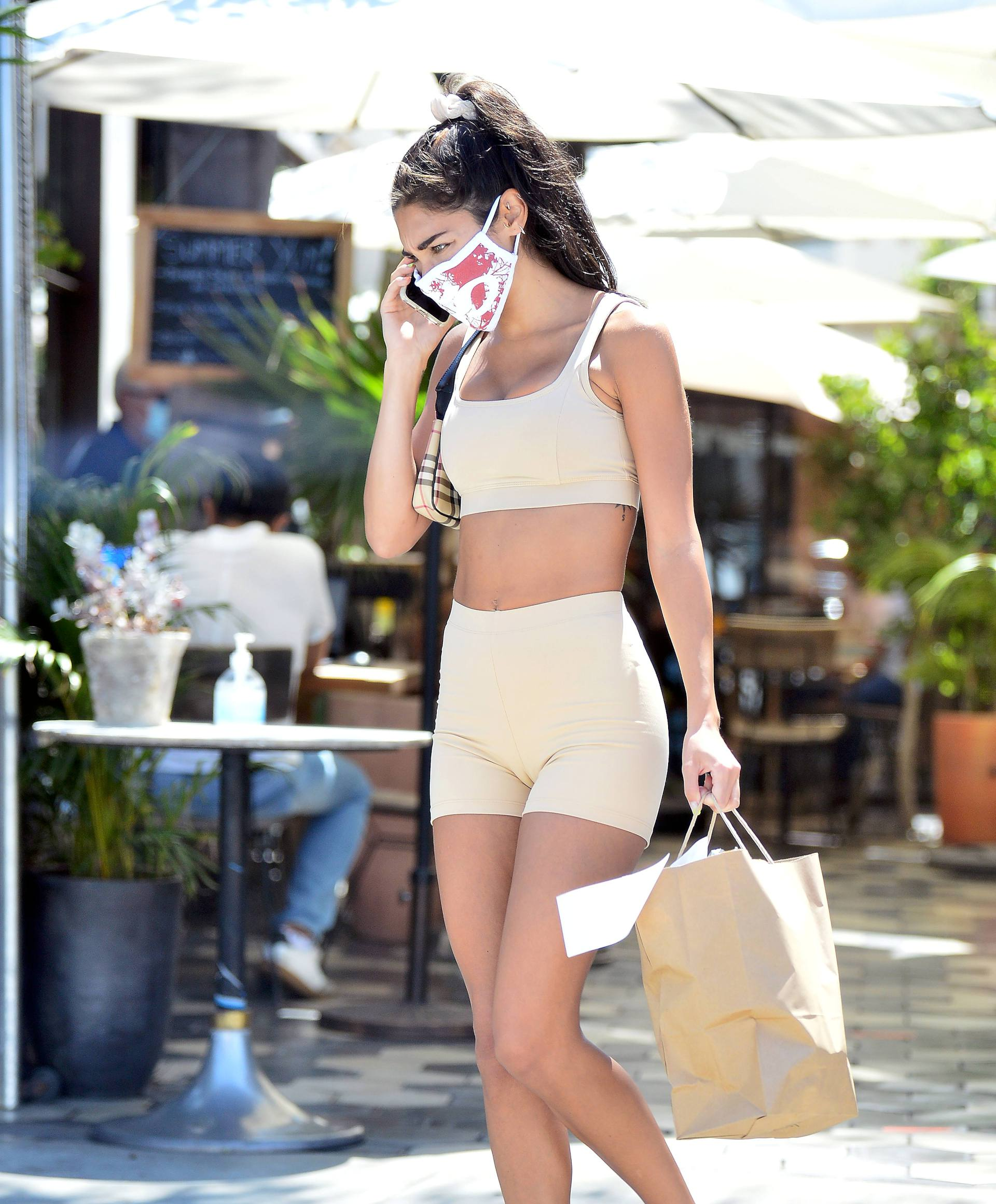 Chantel Jeffries Skimpy Outfit