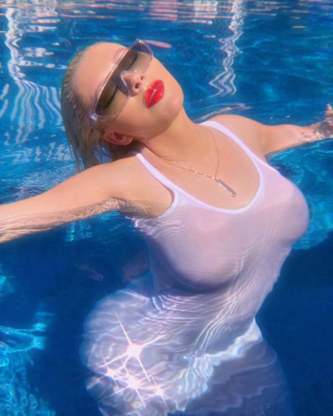 Christina Aguilera Big Breasts