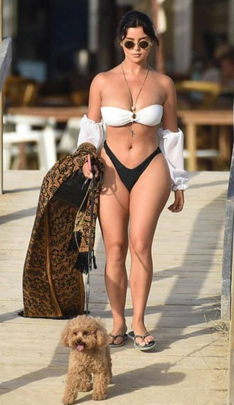 Demi Rose Mawby In Thong Bikini