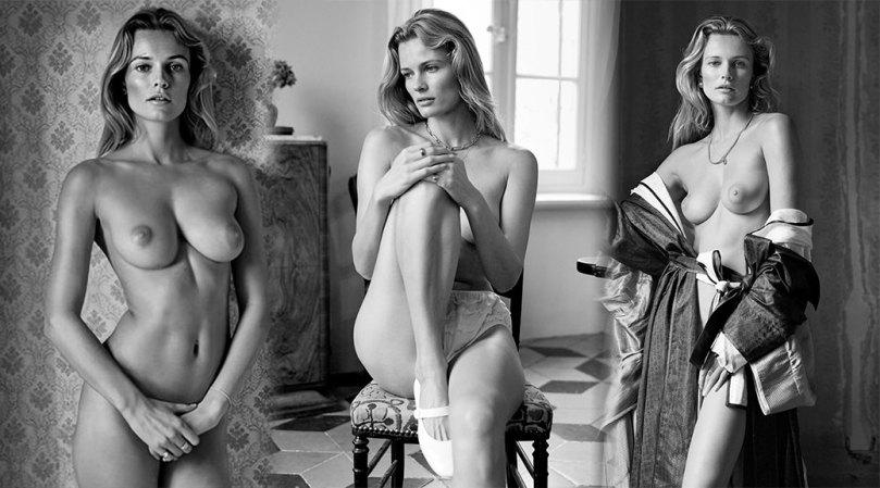 Edita Vilkeviciute Sexy Topless Breasts