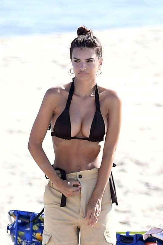 Emily Ratajkowski Beautiful Body In Bikini
