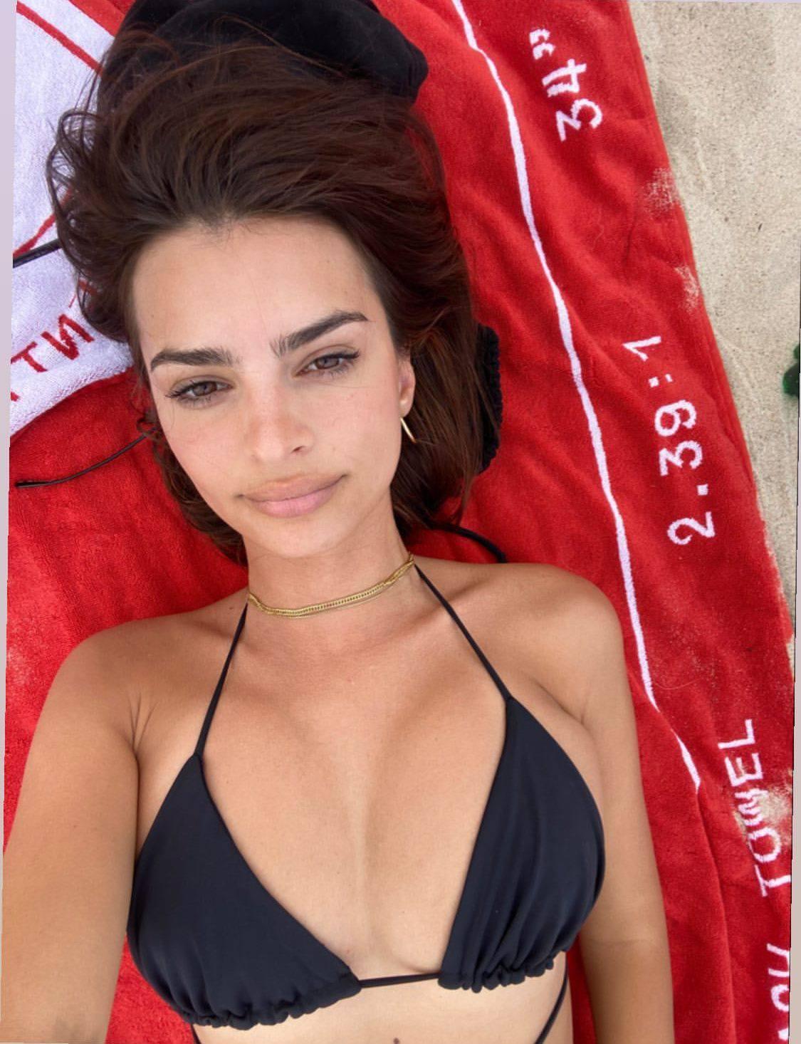 Emily Ratajkowski Bikini Selfie
