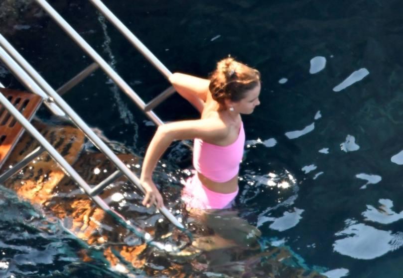 Emma Watson Pink Bikini