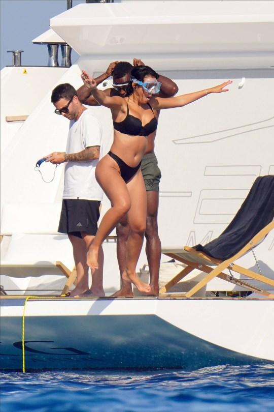 Georgina Rodriguez Sexy Thong Bikini