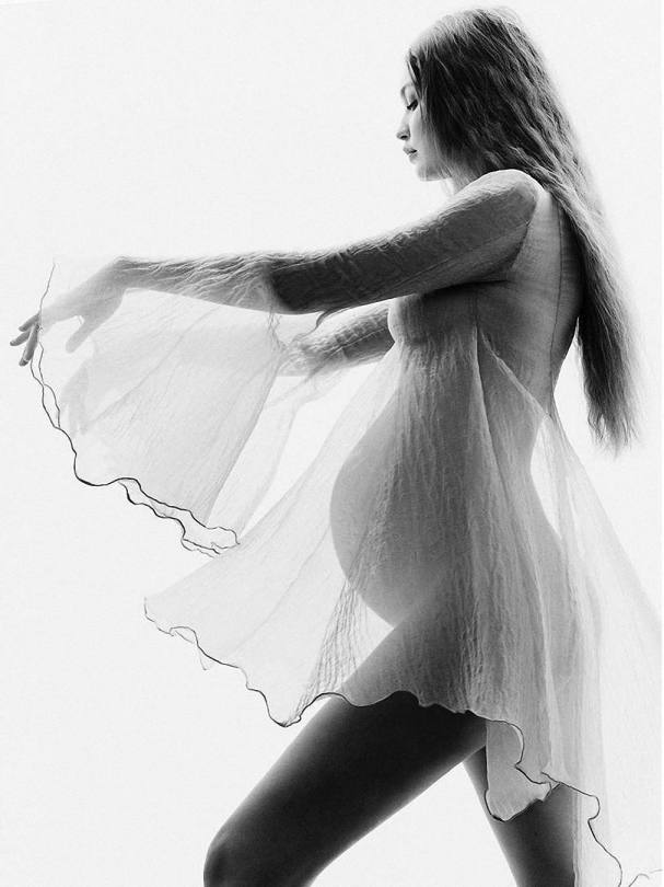 Gigi Hadid Pregnant Photoshoot