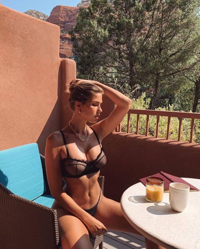 Kara Del Toro In Sexy Underwear
