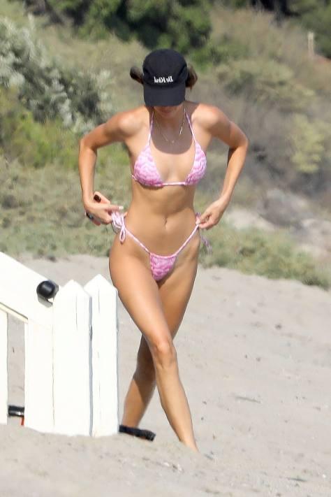 Kendall Jenner Sexy Tiny Bikini