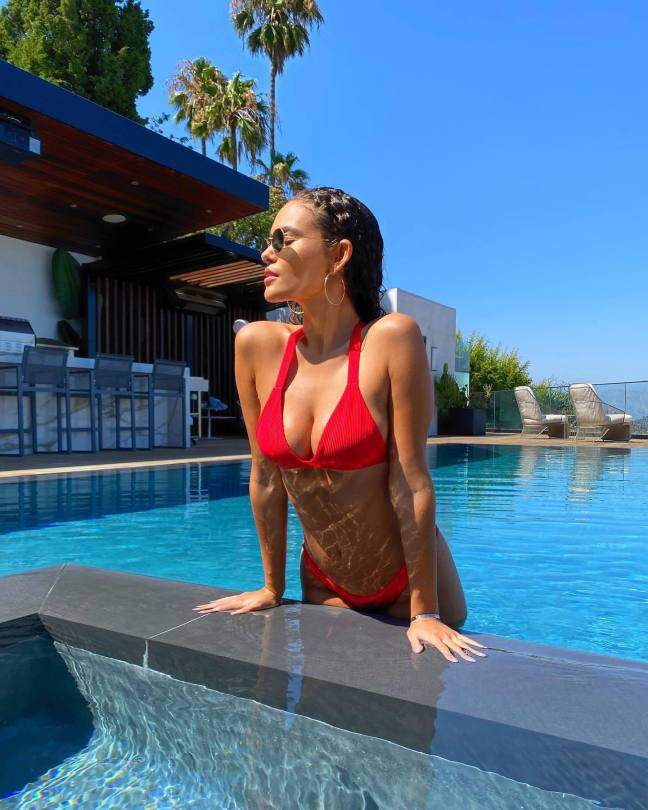 Madison Pettis Beautiful Breasts In Bikini