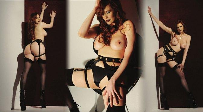 Maitland Ward – Sexy Boobs in Naked Photoshoot for AVN Magazine