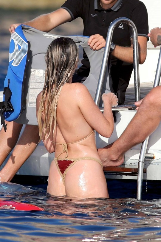 Perrie Edwards Hot Ass In Thong Bikini