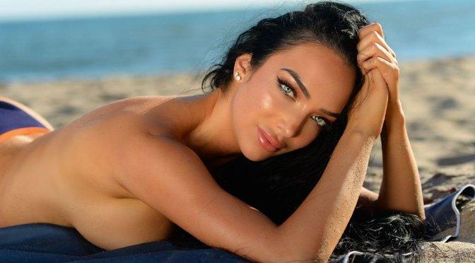 Shahira Barry – Sexy Boobs and Ass in Bikini photoshoot on the Beach in Malibu