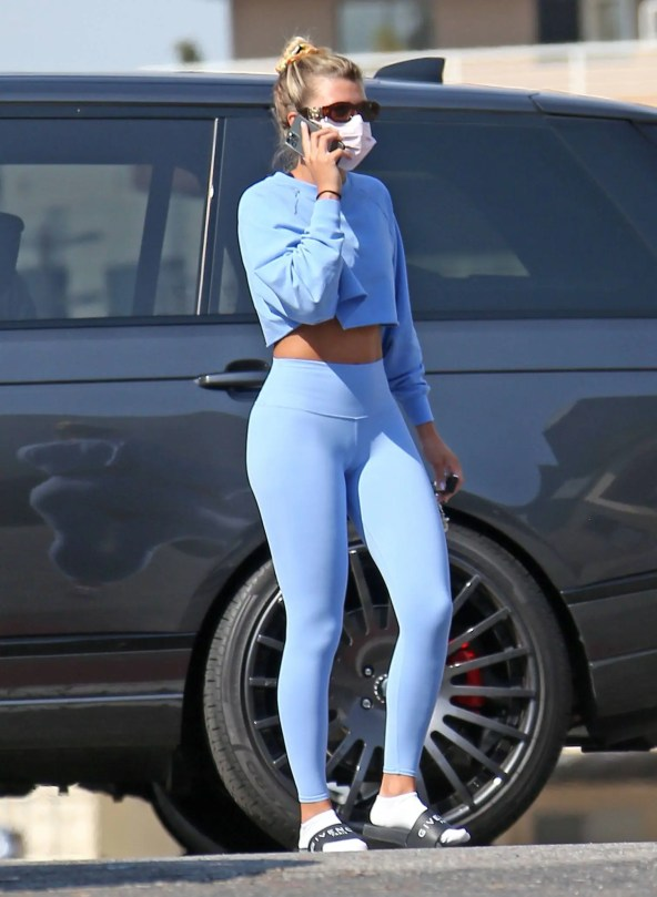 Sofia Richie Hot Ass In Yoga Pants