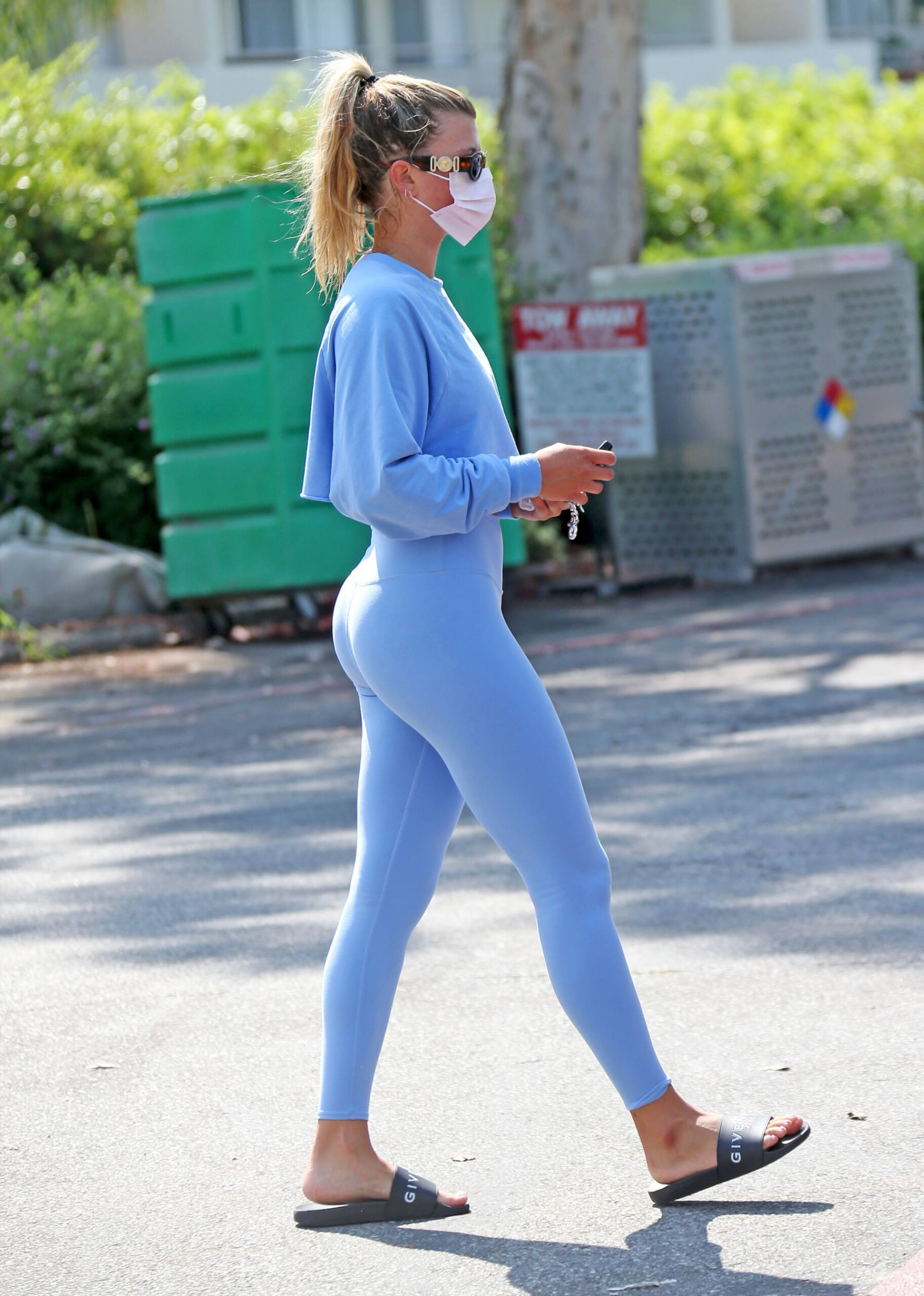 Sofia Richie Hot Ass In Yoga Pants