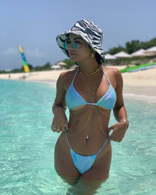 Vanessa Hudgens Hot In Racy Bikini