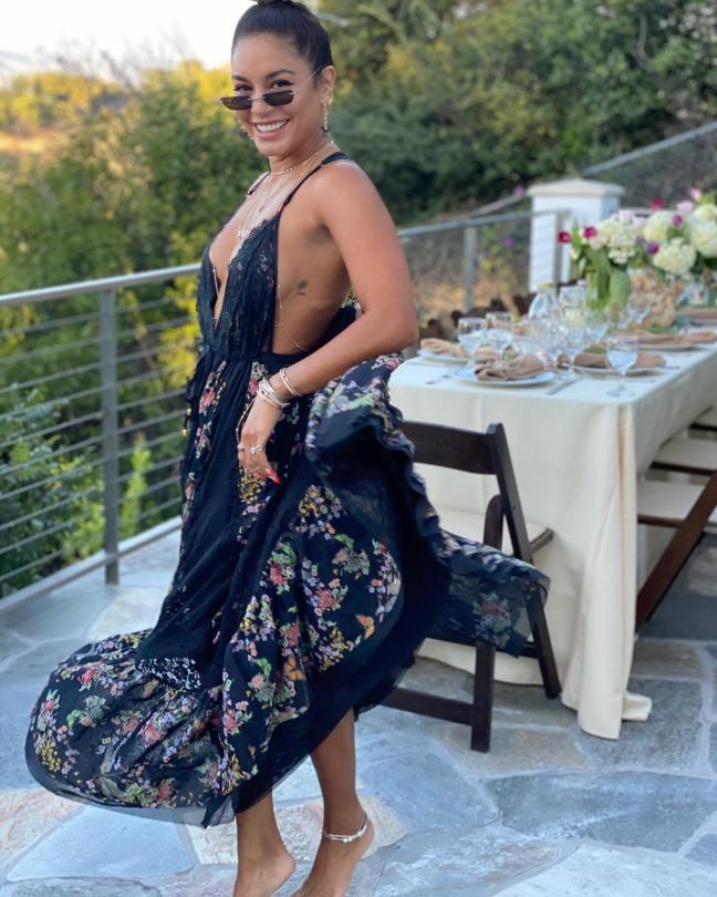 Vanessa Hudgens Sexy In Dress