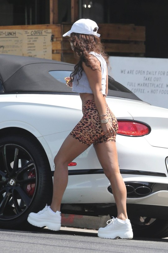 Vanessa Hudgens In Tiny Shorts