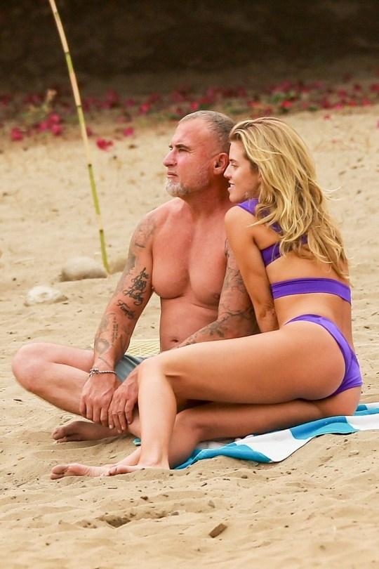 AnnaLynne McCord - Sexy Ass in a Bikini on the Beach in Huntington Beach