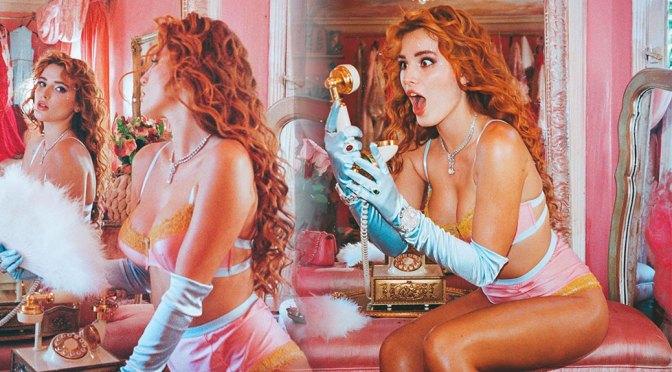 Bella Thorne Hot Boobs In Underwear