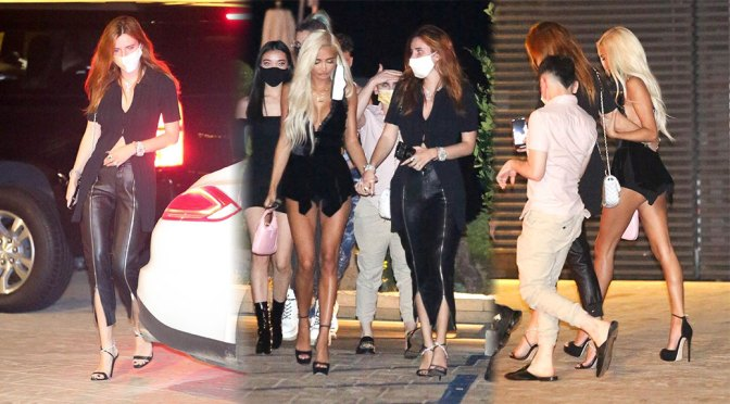 Bella Thorne & Pia Mia – Sexy Candids at Nobu in Malibu