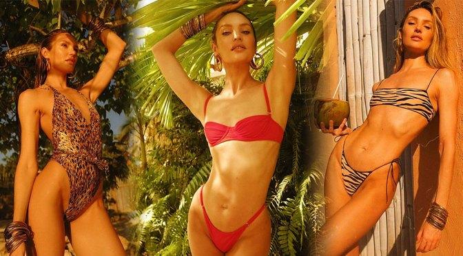 Candice Swanepoel – Sexy Body in Tropic of C Swimwear Photoshoot
