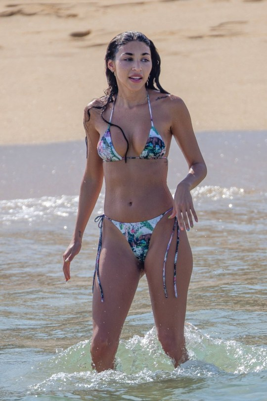 Chantel Jeffries - Sexy Body in Bikini on the Beach in Cabo San Lucas