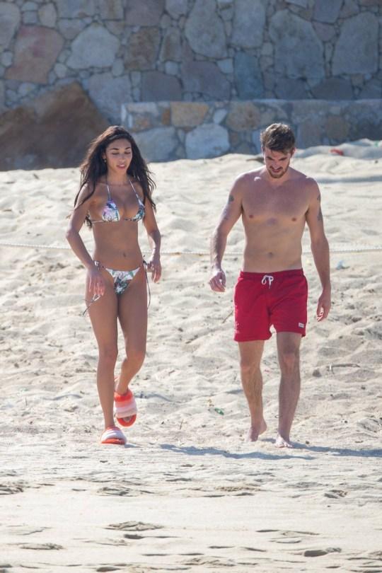 Chantel Jeffries - Sexy Body in Bikini on the Beach in Cabo San Lucas