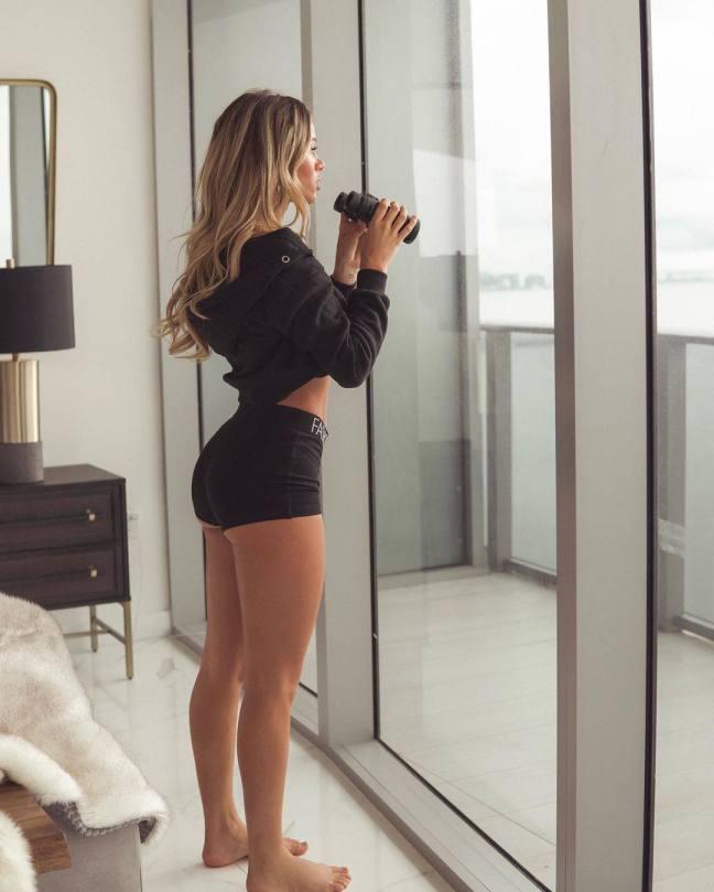 Cindy Prado Sexy In Shorts