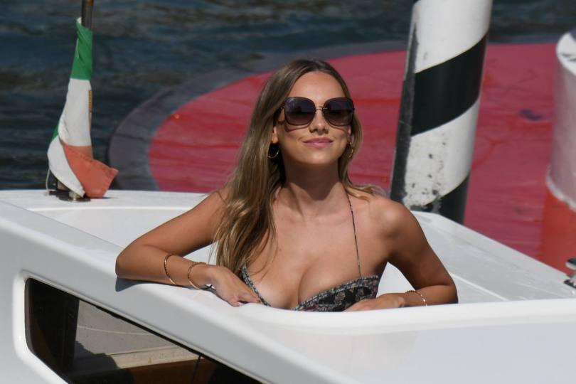 Ester Exposito Sexy Cleavage