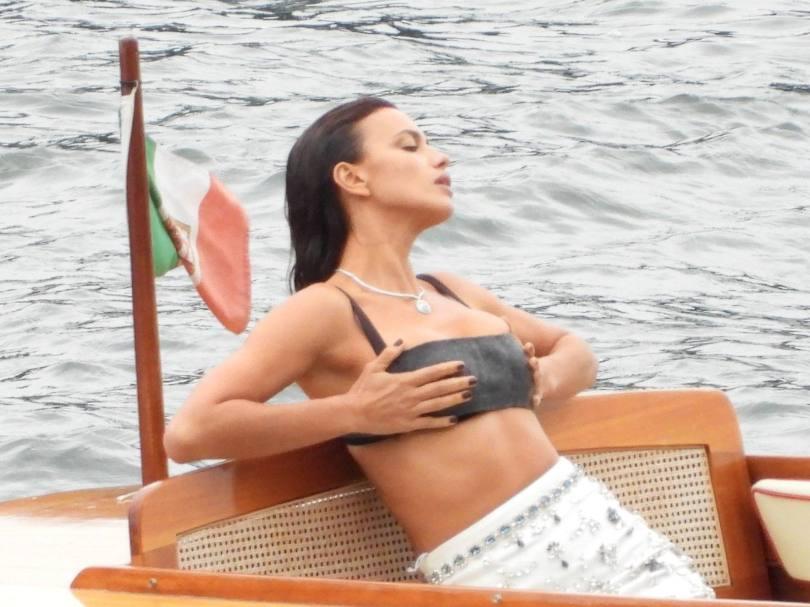 Irina Shayk Sexy On Photoshoot