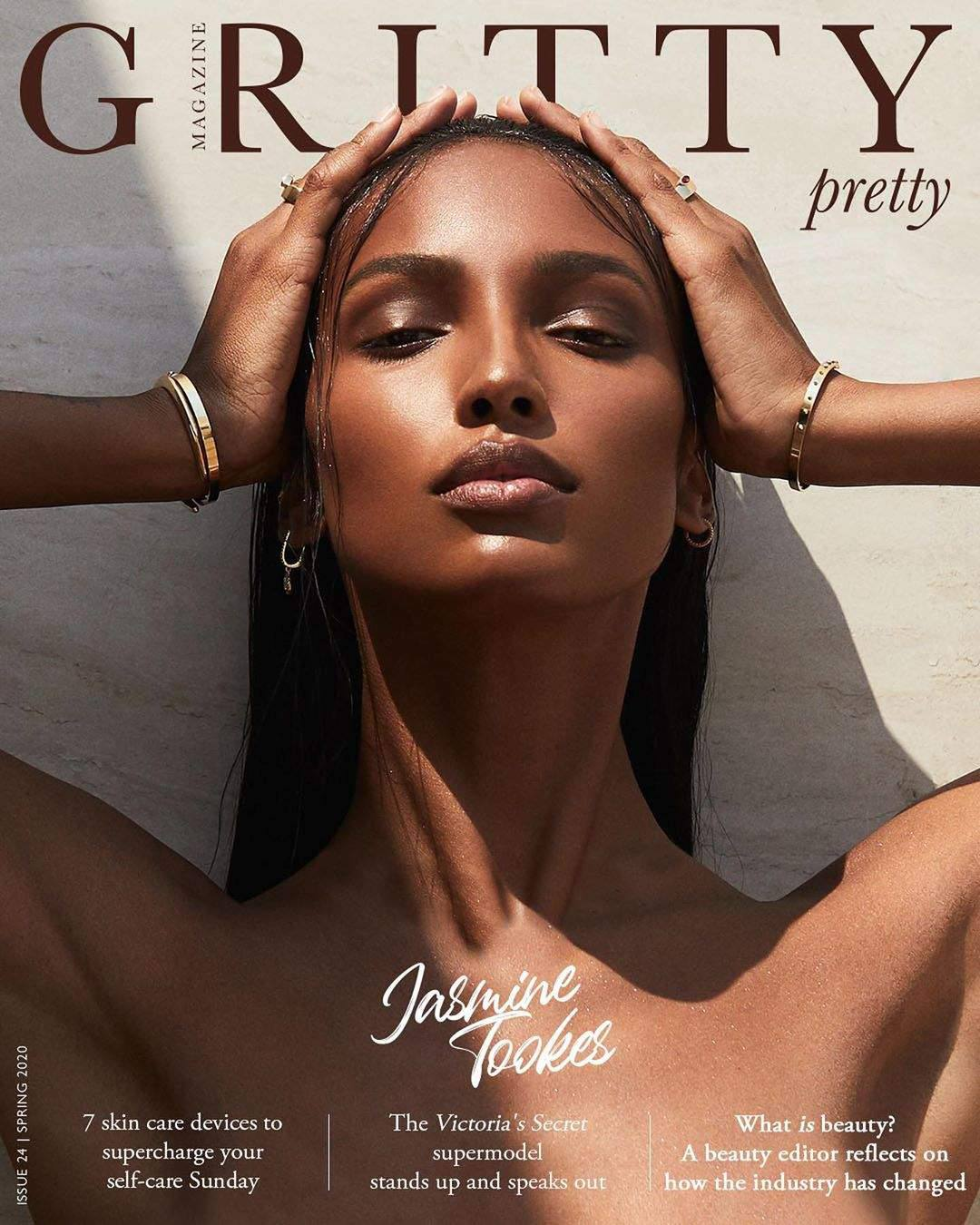 Jasmine Tookes - Beautiful Naked Body in Gritty Magazine Photoshoot (Issue 24 Spring 2020)