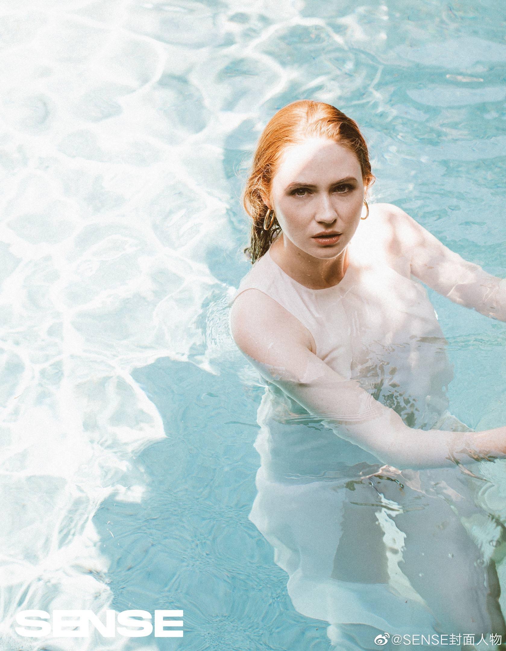 Karen Gillan - Beautiful Photoshoot for Sense Magazine by