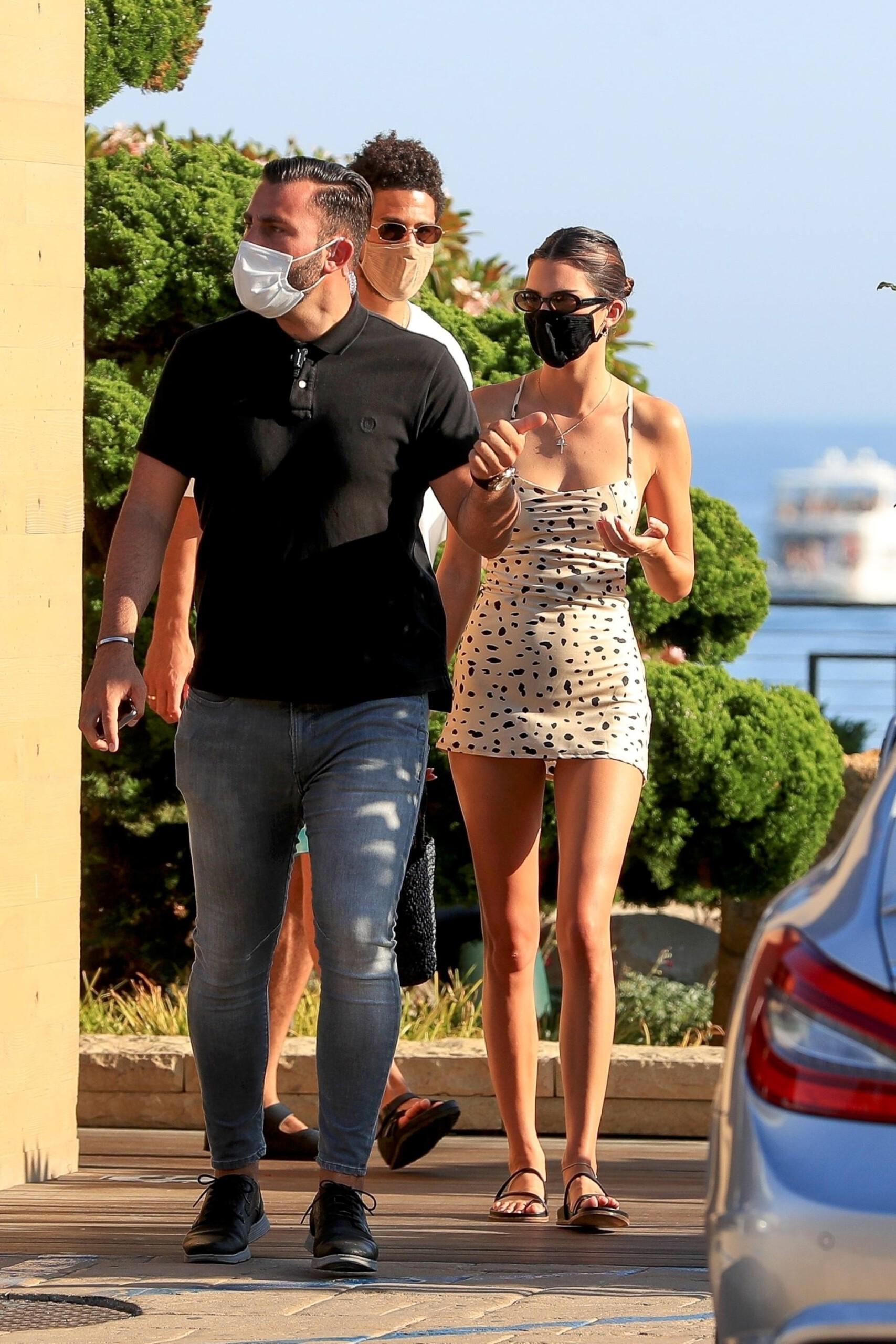 Kendall Jenner In Short Dress
